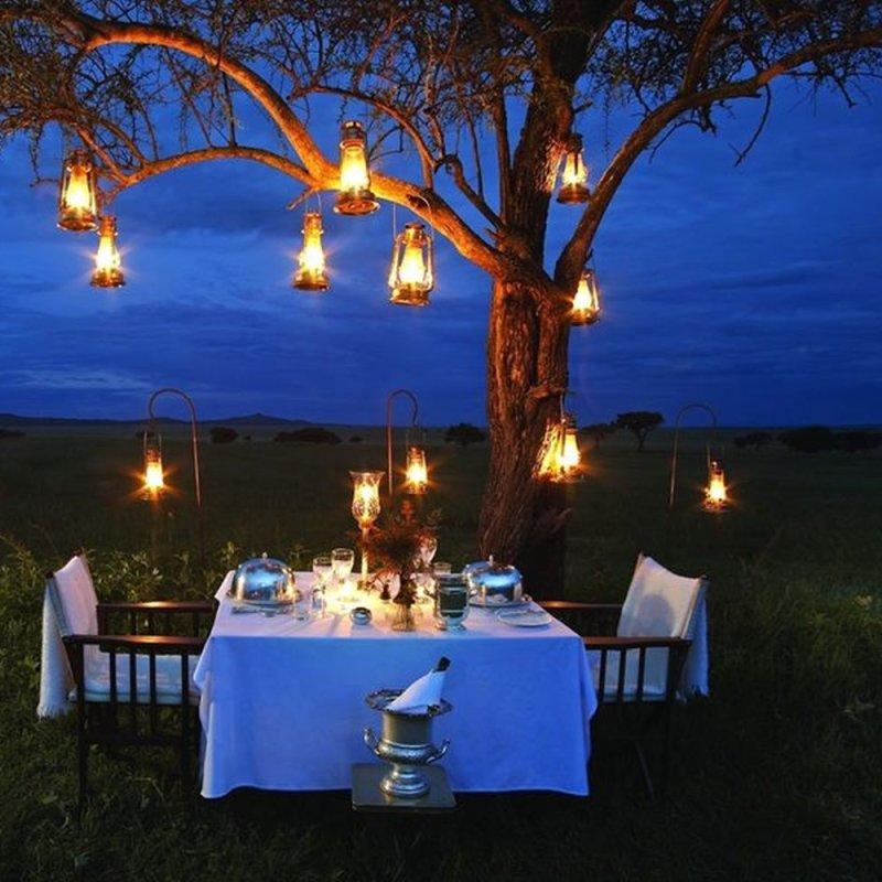 Dove organizzare una cena romantica a due d'estate a Roma