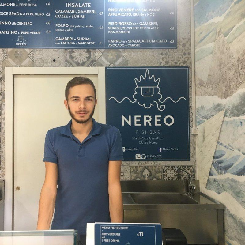 Lorenzo De Marco e Nereo Fishbar, dove il fast food di pesce gioca col design