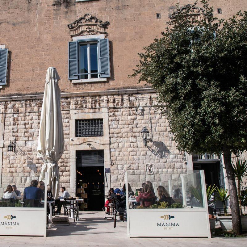 Se non mangi all'aperto godi solo a metà. 7 ristoranti con vista a Trani
