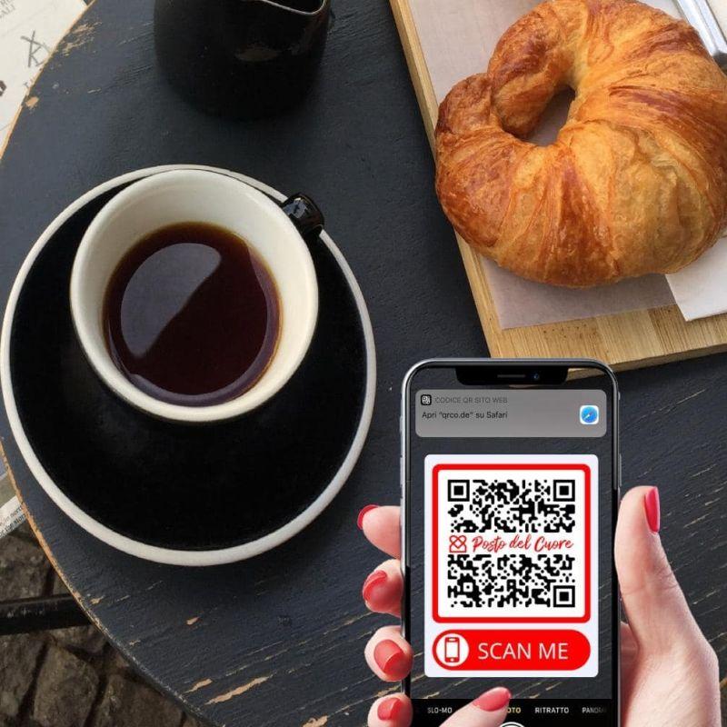 Il menu digitale delivery su Whatsapp di Posto del Cuore