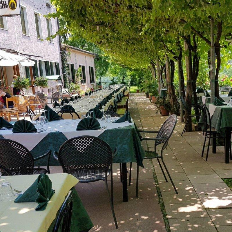 Dove mangiare all'aperto a Treviso e in provincia quando siete in tanti