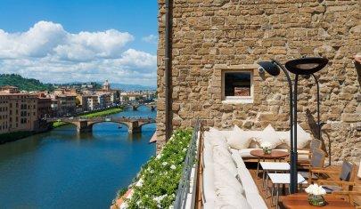 Dimmi che vista vuoi e ti dico dove fare colazione a Firenze