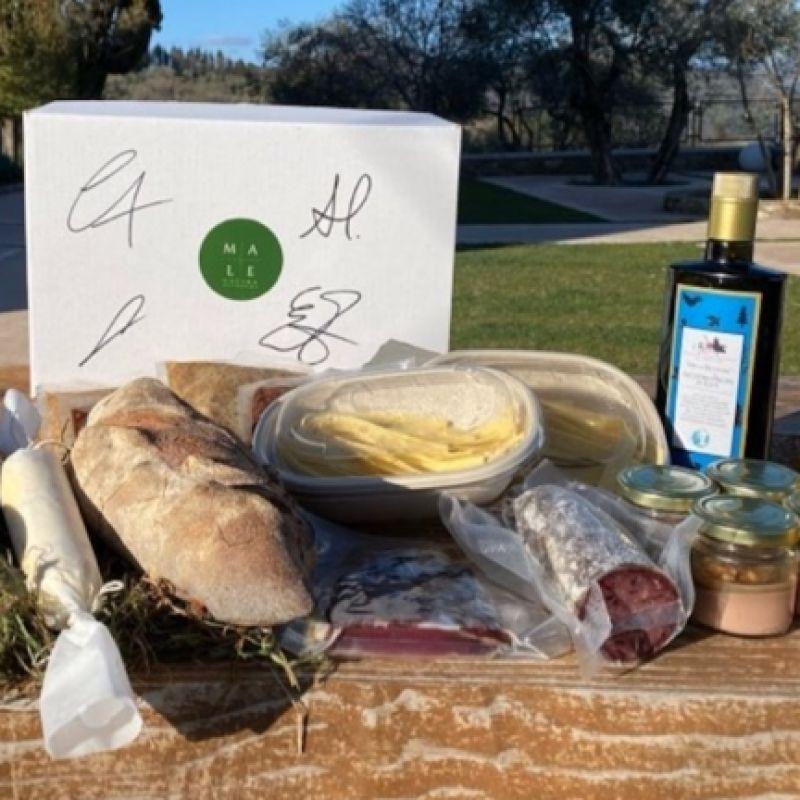 La Toscana a tavola in un delivery nato per incrociare idee in cucina