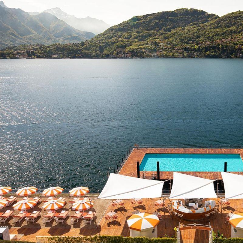 Giacomo al Lago è il nuovo ristorante dell'Grand Hotel Tremezzo