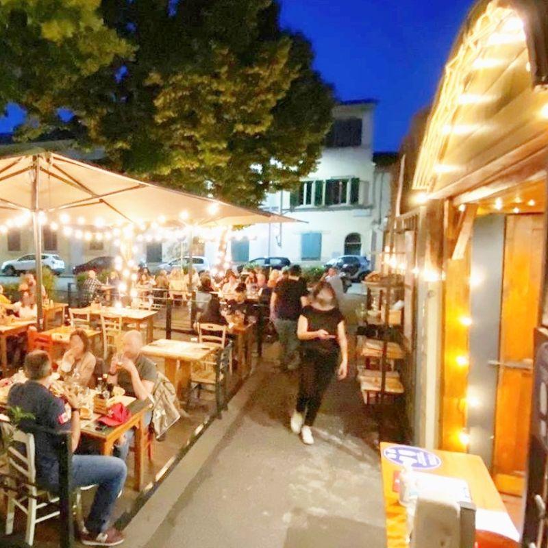 10 pizzerie di Firenze all'aperto: terrazze, cortili e dehors per mangiare al fresco