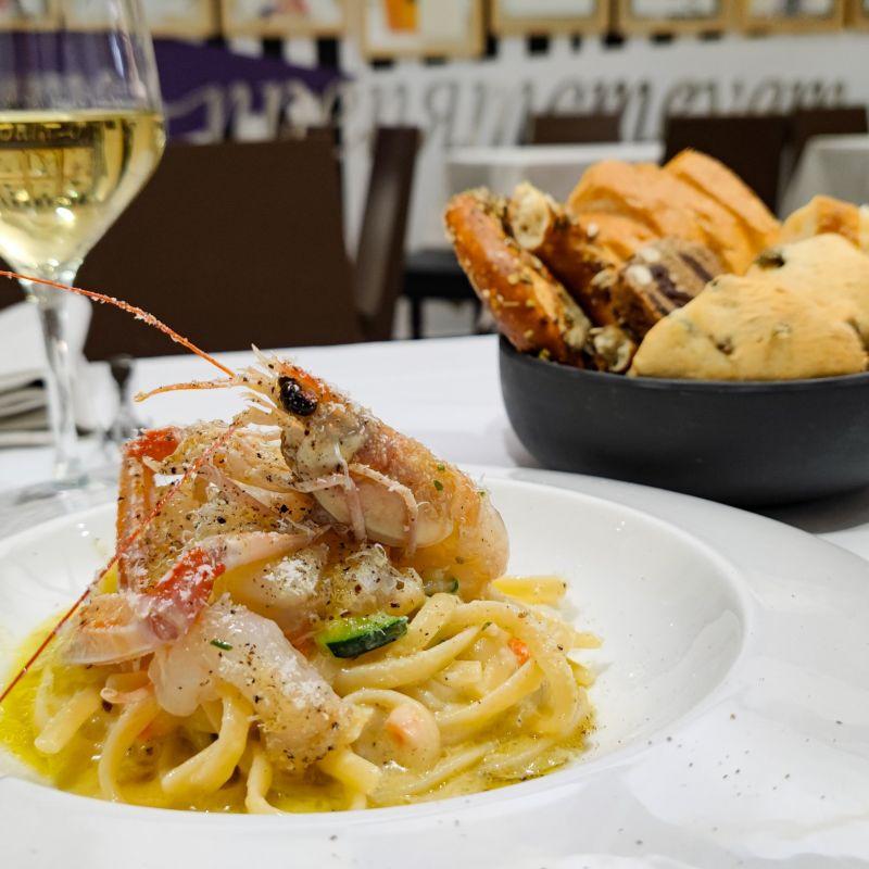Il mio pranzo elegante e moderno in via San Fermo, per chiunque voglia mangiare bene