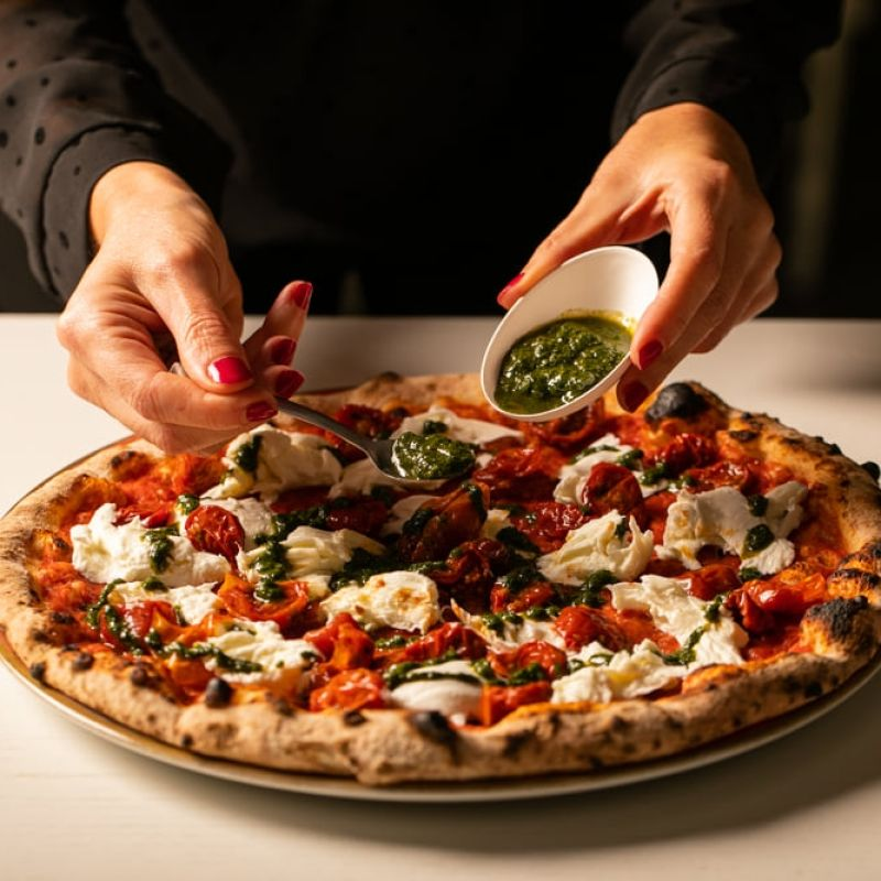 Ha aperto a Milano una pizzeria Magnifica