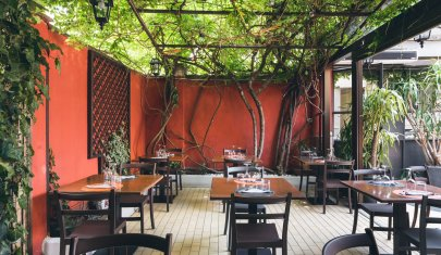 Cena sotto il pergolato: Milano (quasi) come Capri
