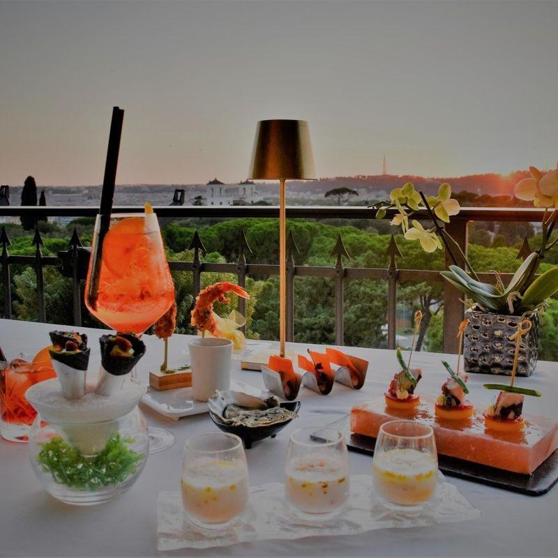 Apre un nuovo sky bar restaurant vicino a Villa Borghese