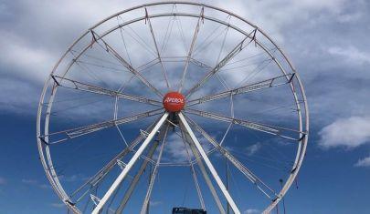 A Bari arriva una ruota panoramica alta 32 metri