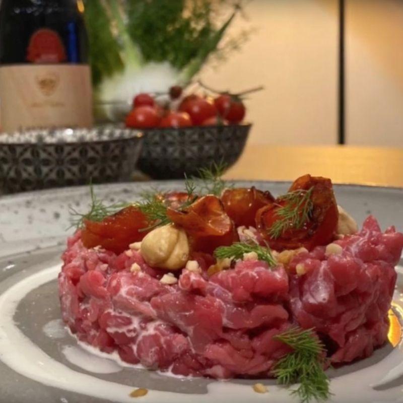 Tartare di Fassona piemontese - Carnivora