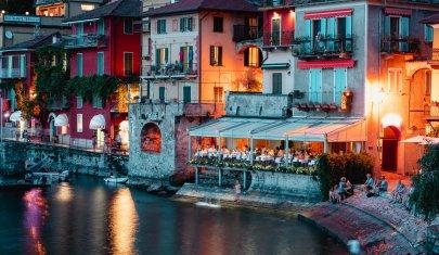 Come vincere facile: per una cena romantica sul lago di Como