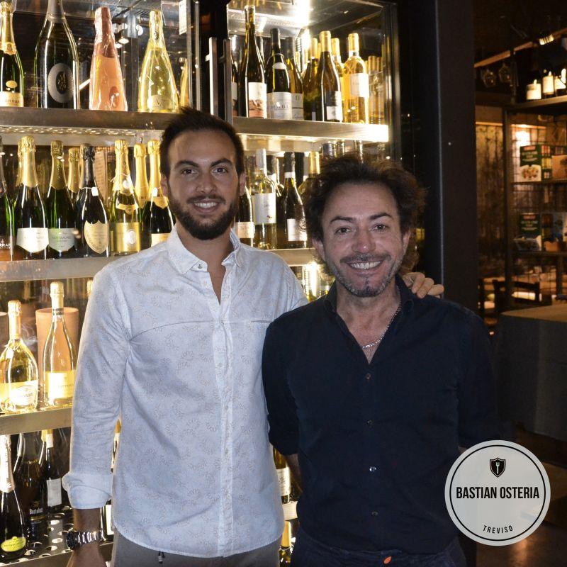 Cucina e cicchetteria al Bastian Osteria: il doppio menù di Claudio e Simone