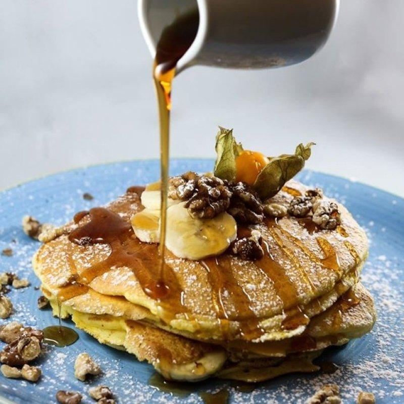 Sciroppo d'acero come se piovesse: la colazione con pancakes a Firenze