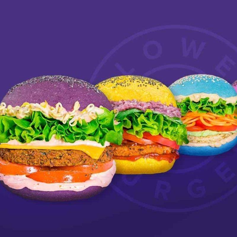 I burger vegan e colorati sono arrivati al quarto store milanese: si trova in Corso Garibaldi