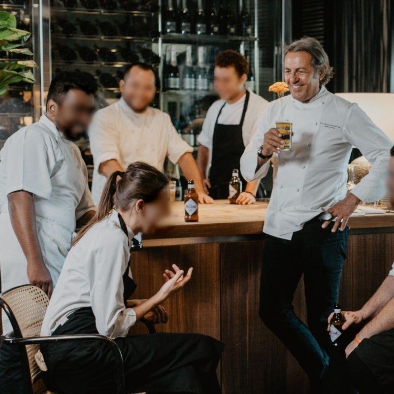 Chef La Mantia: dopo la chiusura la co-cucina con Chef Morelli