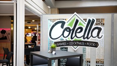 Colella Games Cocktails & Food